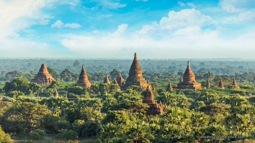 Touristic Attractions in Myanmar